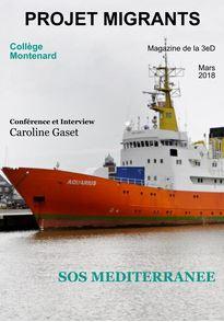 "Magazine virtuel du ""Projet Migrants"", 3eD"