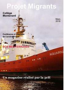 "Magazine virtuel du ""Projet Migrants"", 3eH"